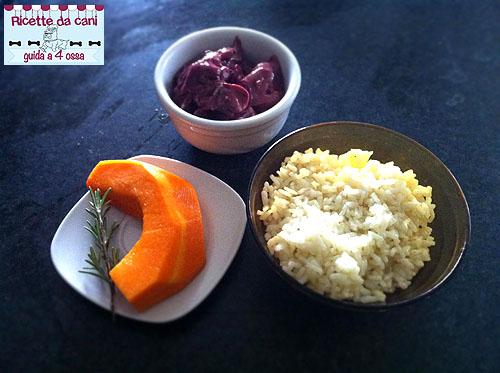 risotto zucca e fegatini ingredienti