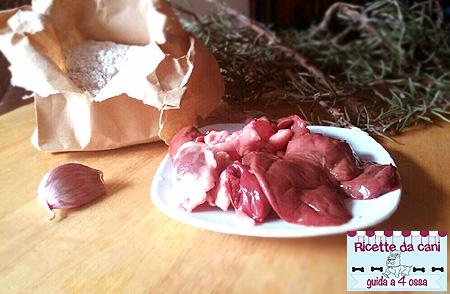 biscotti di segale al fegato per cani