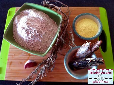 ingredienti biscotti sgombro e patate
