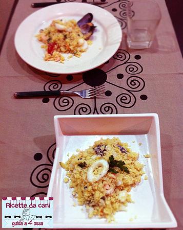 cous cous pesce ricette cani