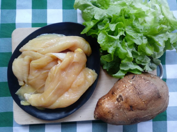 straccetti di pollo in vasocottura - ingredienti
