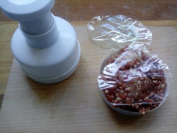 hamburger per cani american style -preparazione