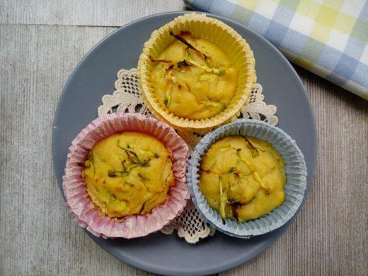 muffin per cani e gatti pollo e zucchine