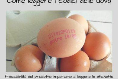 come leggere i codici delle uova