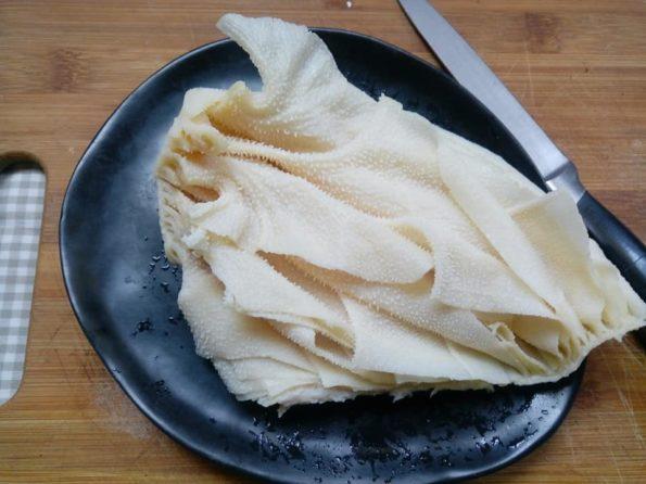 ventagli di trippa essiccata