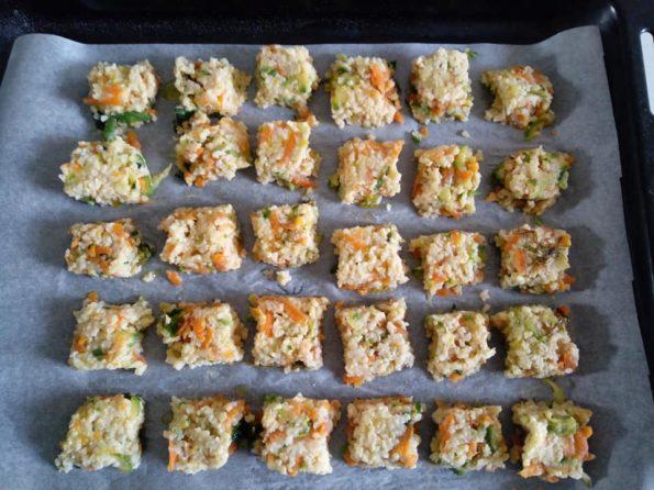 polpettine vegetariane di miglio