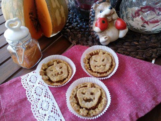 crostatine di frutta e zucca