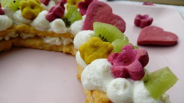 cream tart ricetta torta per cani