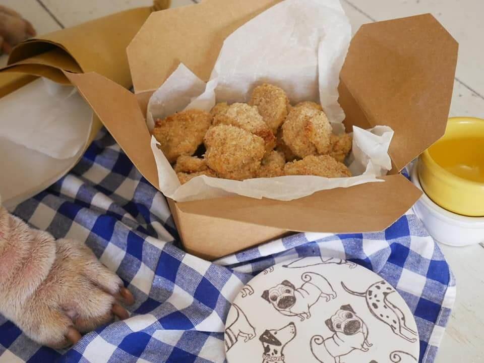 nuggets di pollo ricetta per cani e umani