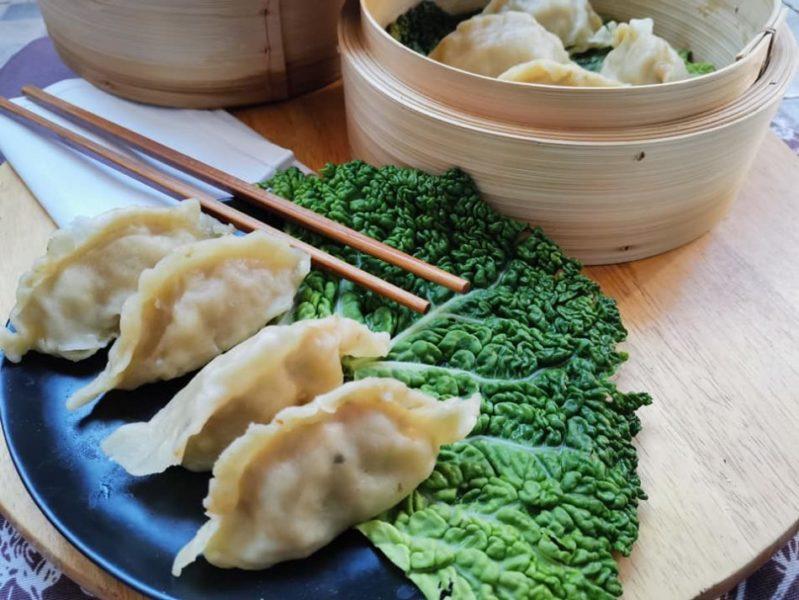 ravioli cinesi bau-ricetta fatta in casa