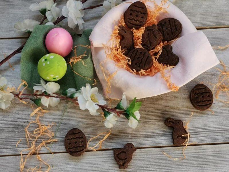 biscotti alla carruba come cioccolato