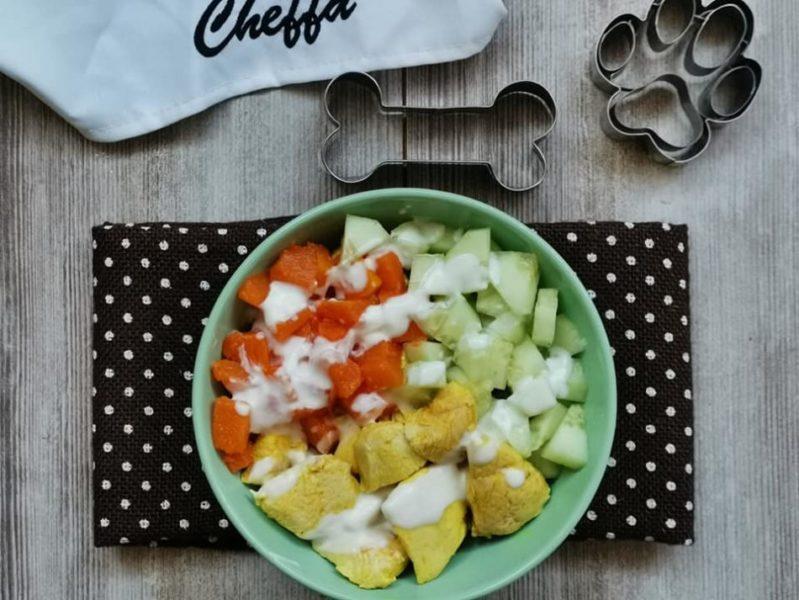 pollo alla curcuma con verdure
