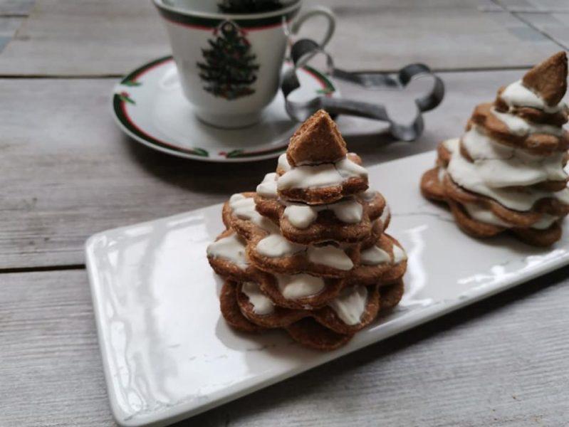 alberelli di biscotto - idee creative per natale