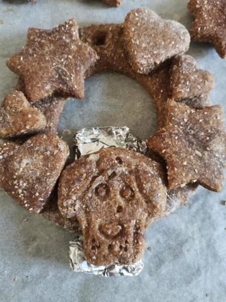 ghirlande natalizie di biscotto
