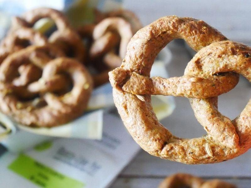 bretzel o pretzel eccoli per i cani