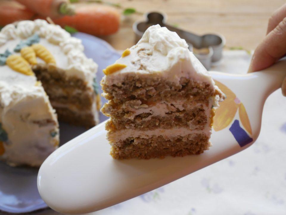 carrot cake o torta di carote per cani