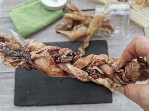 osso di pelle per cani fatto in casa